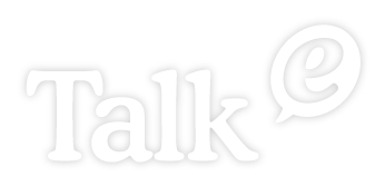 ロゴ:株式会社ヒトコト社 英語部門 TalkE トーキー